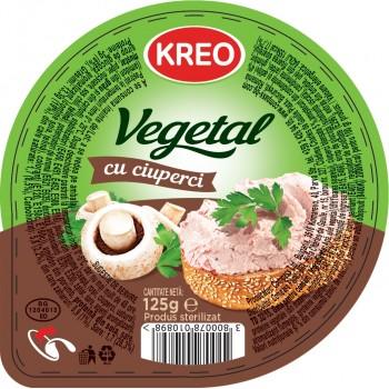 KREO PATE VEGETAL CU CIUPERCI 10X125G