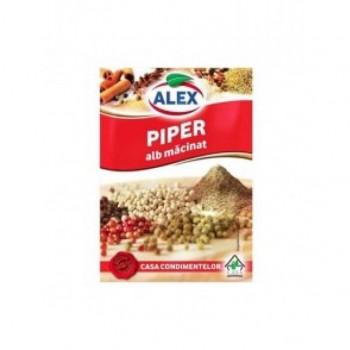 ALEX PIPER ALB MACINAT 20X10G