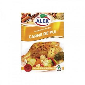 ALEX PT CARNE DE PUI 20X18G