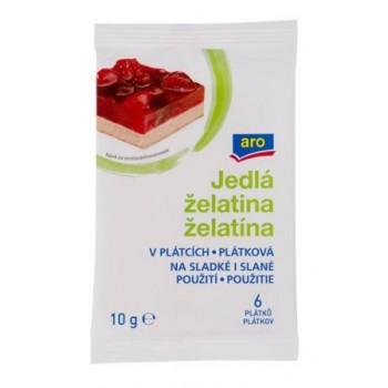 ARO ZELATINA PLATKY 25X10G