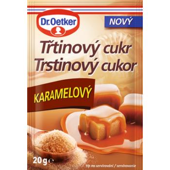 DR.OETKER TRSTINOVY CUKR KARAMEL 20X20G