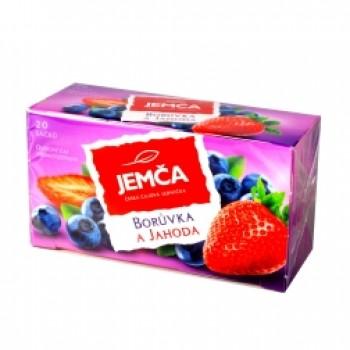 JEMCA BORUVKA A JAHODA 6X40G