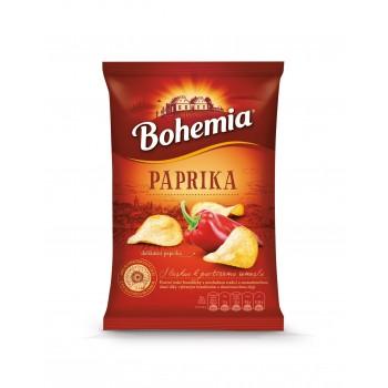 BOHEMIA CHIPS PAPRIKA 15X77G
