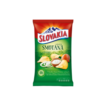 SLOVAKIA CHIPS CIBULKOVA SMOTANA 18X50G