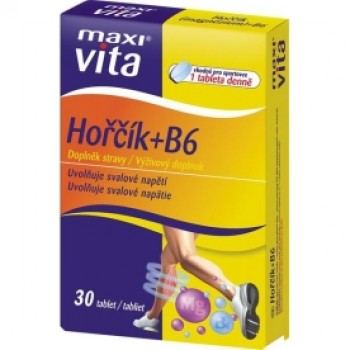 MAXI VITA HORCIK(Mg) B6 2X30TB