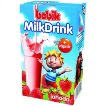 BOBIK DRINK JAHODA 27X250ML