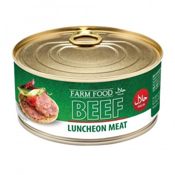 HALAL BEEF LUNCHEON MEAT 6X300G