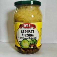 EDMAL KAPUSTA KISZONA Z GRZYBAMI LESNYMI 8X900G