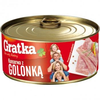 GRATKA KONSERWA Z GOLONKA 6X300G