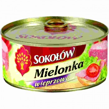 SOKOLOW MEDIUM MIELONKA 6X300G