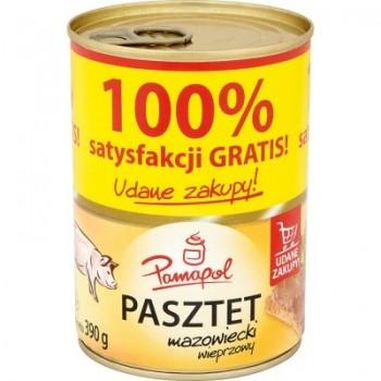 PAMAPOL PASZTET Z WIEPRZOWY 10X390G