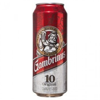 GAMBRINUS SVETLY 4.3% 24X0.5L