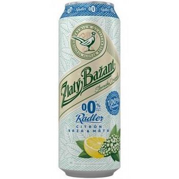 ZLATY BAZANT ALCOHOL FREE RADLER CITRON BAZA MATA 6X500ML