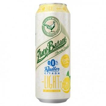 ZLATY BAZANT ALCOHOL FREE RADLER CITRON LIGHT 6X500ML