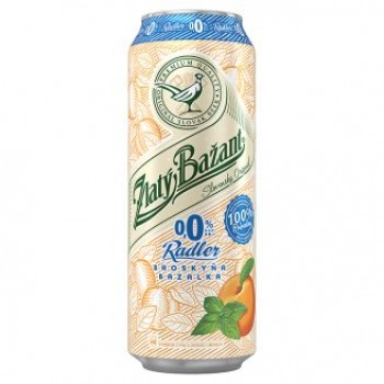 ZLATY BAZANT ALCOHOL FREE RADLER BROSKYNA AND BASIL 6X500ML